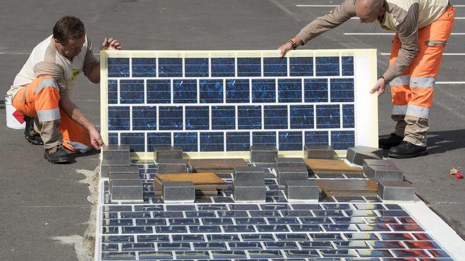 Her skal 1000 kilometer vei få solcelle-asfalt