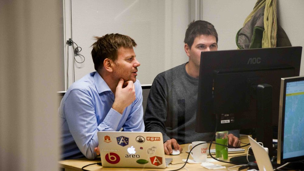 Areo på Startuplab lager en webplattform for byggebransjen, som skal gjøre det enklere å finne riktig dokumentasjon for de som drifter byggene.