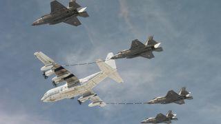 F-35 gjør et nytt forsøk på å krysse Atlanteren
