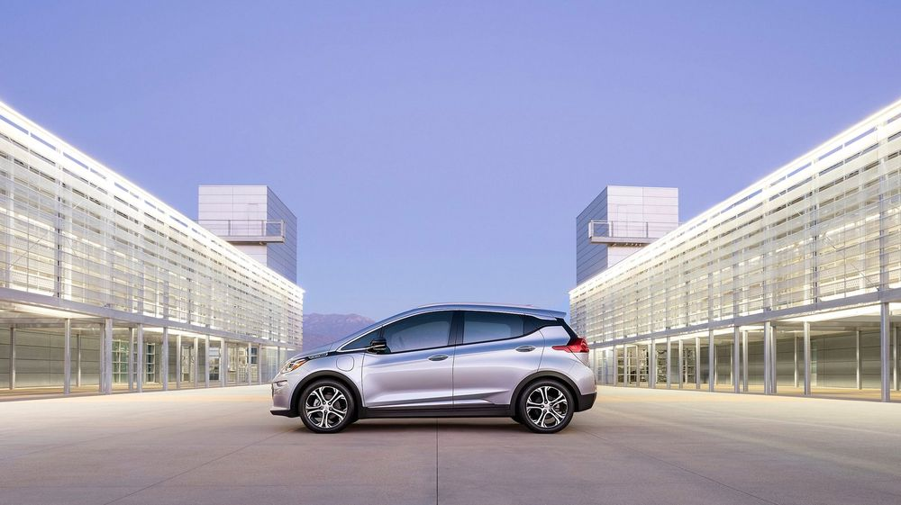 Chevrolet Bolt kommer for salg sent i 2016.