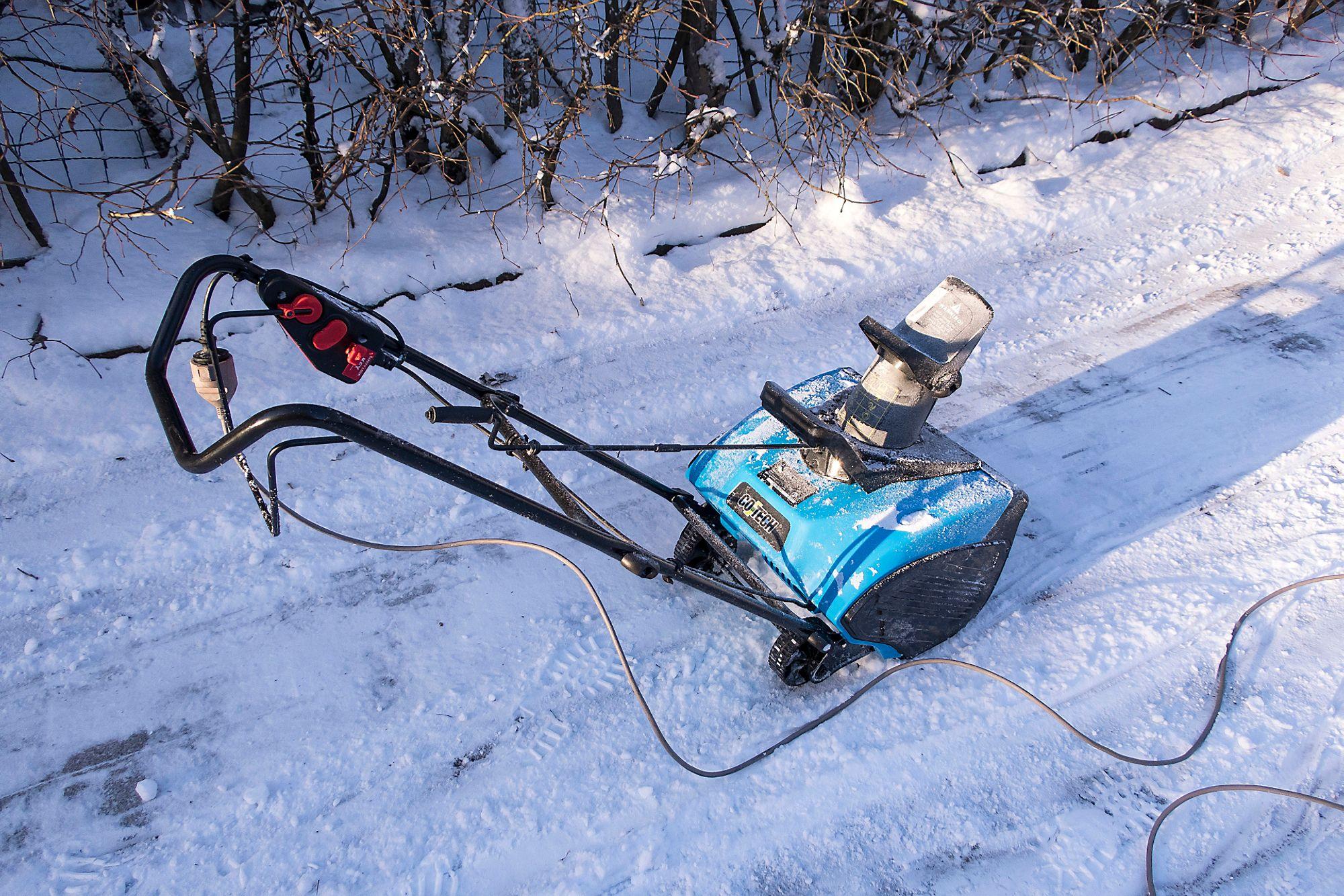 Yamaha snøfreser test