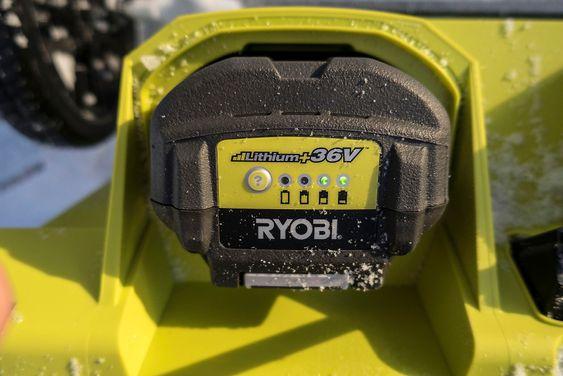 Seiglivet: Batteriet på 5 Ah og 36 volt flyttet mer snø enn vi hadde forestilt oss