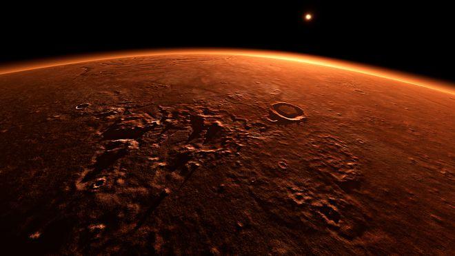 Med denne betongen kan man bygge på Mars