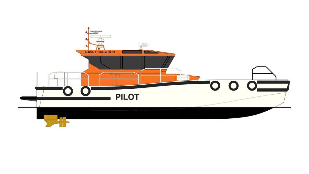 Nye losbåter utviklet av Maritime Partner i Ålesund og Buksér og Berging. fartøyene blir 16,2 meter lange, 4,6 meter brede og skal ha plass til 12 personer, med 32 knops toppfart.