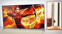 Denne TV-en er tynnere enn iPhonen din