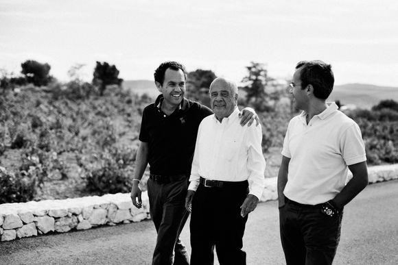 Brødrene Antonio og Alfredo Candela Belda har fortsatt med seg gamlefar på laget.