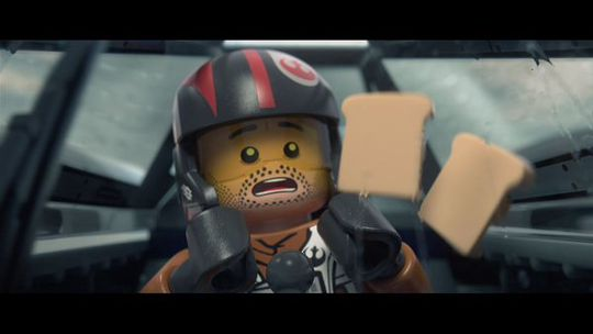 LEGO Star Wars: The Force Awakens satsar på å tvinge fram ein latter.