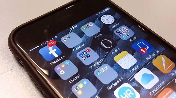 Slett Facebook-appen og få 20 prosent bedre batteri