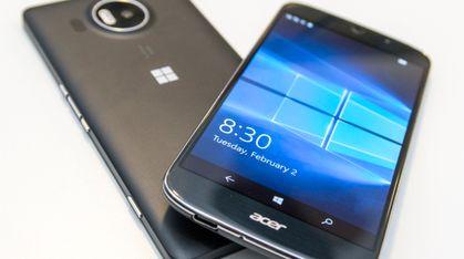 Acers Windows-telefon kan late som om den er PC