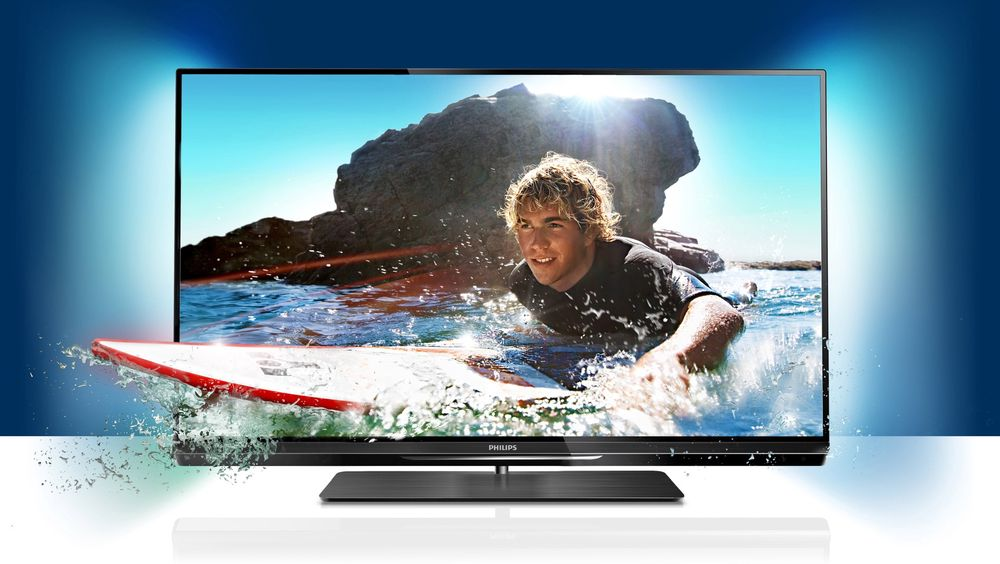 Philips 55PFL6007 leverer lekre bilder, Ambilight og har mange finesser.