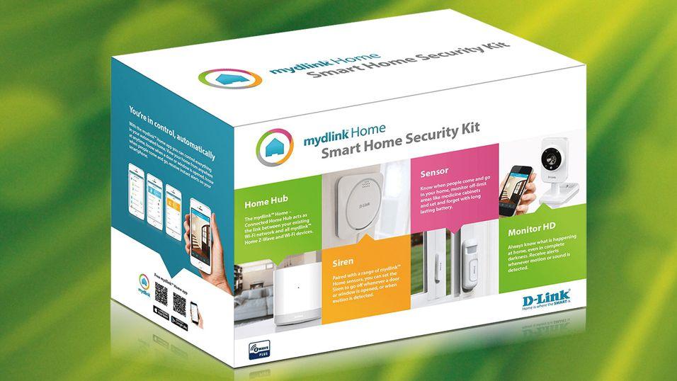 KONKURRANSE: Vinn en smarthus-sikkerhetspakke fra D-Link