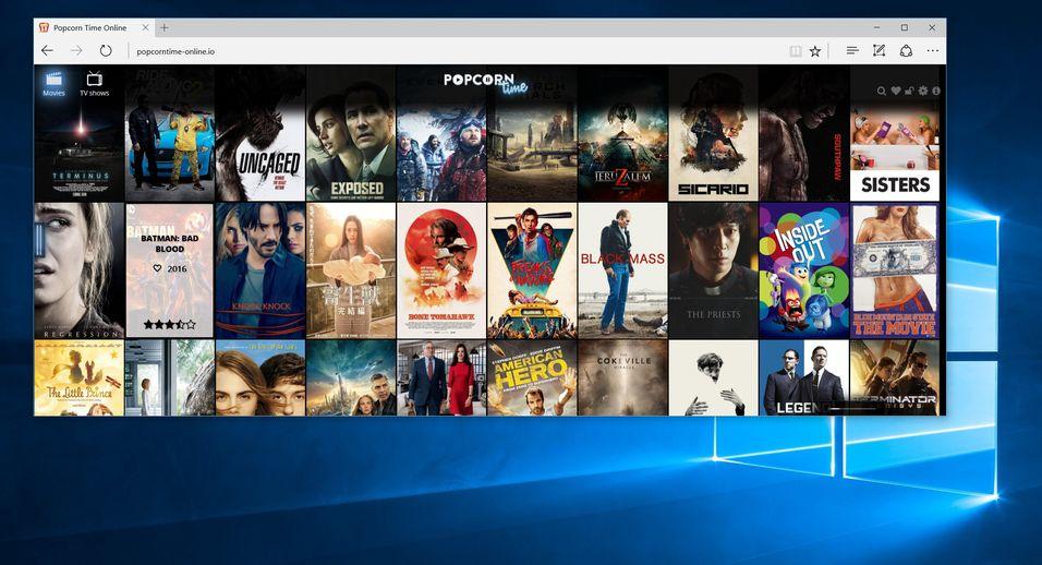 Popcorn Time er Netflix for pirater, og kan nå brukes rett i nettleseren