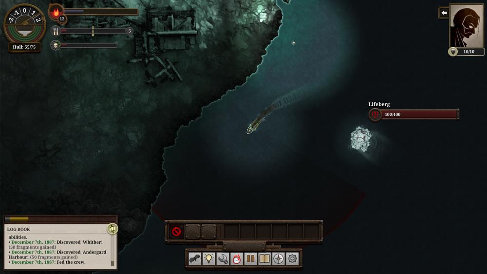 Eit lifeberg er ikkje noko ein har lyst til å bryna seg på utan ei større skute.