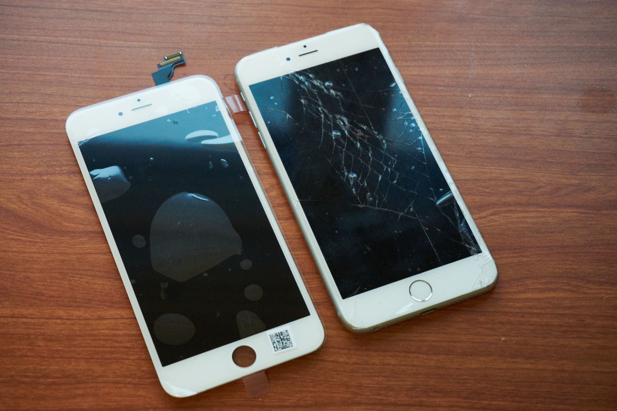 Knust skjerm iphone 7 plus