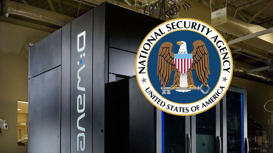 NSA er kritiske til kvantemaskinene. Dette er Googles kvantemodell D-Wave.