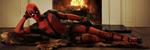 Les Slik  lurer  inviterer du dama med på Deadpool-filmen i helgen