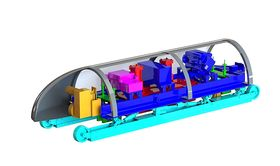 Hyperloopdesign fra MIT