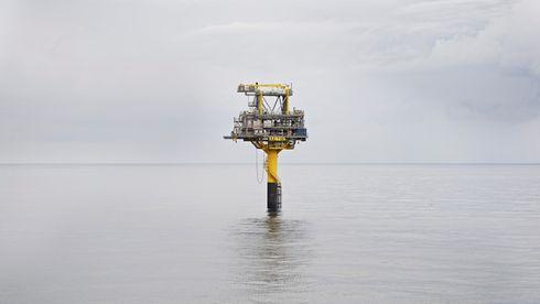 Danmarks ukjente oljeeventyr trues av synkende havbunn