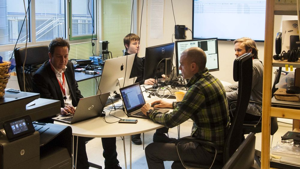 Cap10 har i dag åtte ansatte. Lokalene ligger i Forskningsparken i Oslo - et kontor de er i ferd med å vokse ut av.