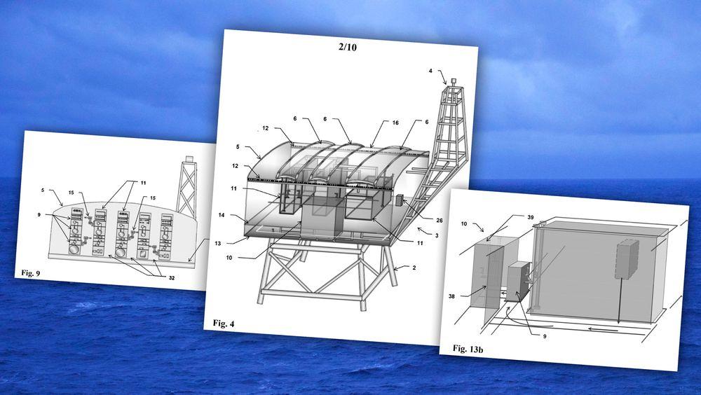 Tegningene er hentet fra patentsøknaden med tillatelse fra Aker Solutions.