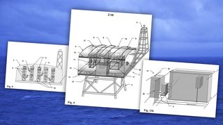 Norsk ingeniørgigant søker patent på robotdrevet oljeplattform