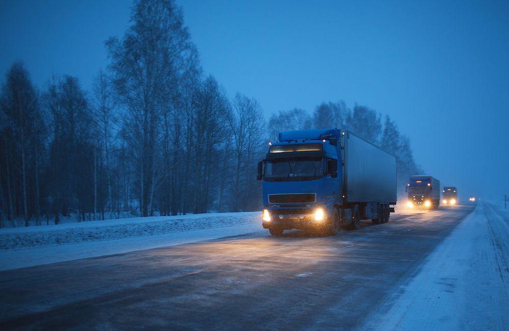 Ved bruk av ITS-løsninger skal laksetransporten langs Europavei 8 bli mer pålitelig enn den er i dag. Illustrasjonsfoto.
