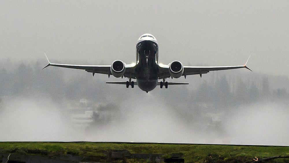 Her letter Boeing 737 Max for første gang. Jomfruferden skjedde for et år siden.