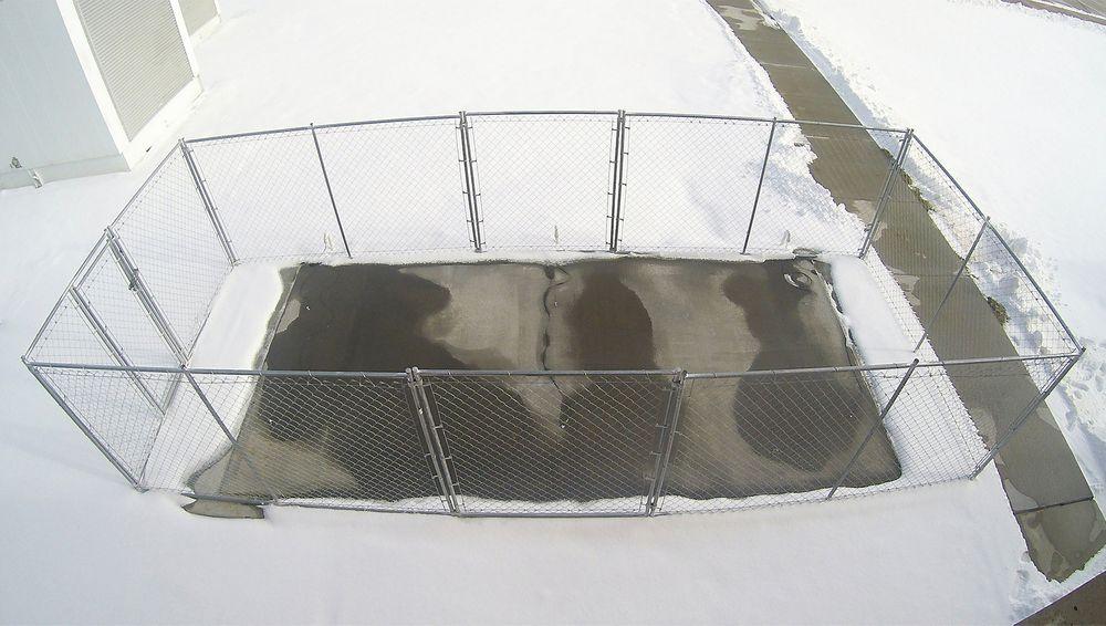 Elektrisk betong kan smelte vekk snø og is på kort tid. En forsker ved universitetet i Nebraska, Lincoln, har demonstrert et slikt konsept. .
