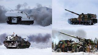 Her konkurrerer de om å bli Forsvarets nye artilleri