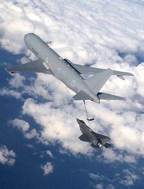 AL-1 etterfylte drivtoff fire ganger på vei fra Azorene til Maryland.