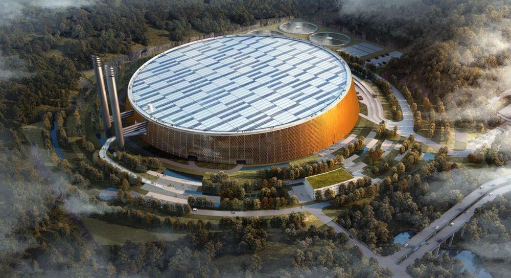 Dette blir verdens største gjenvinningsanlegg for avfall, og skal plasseres i Shenzien-provinsen i Kina.