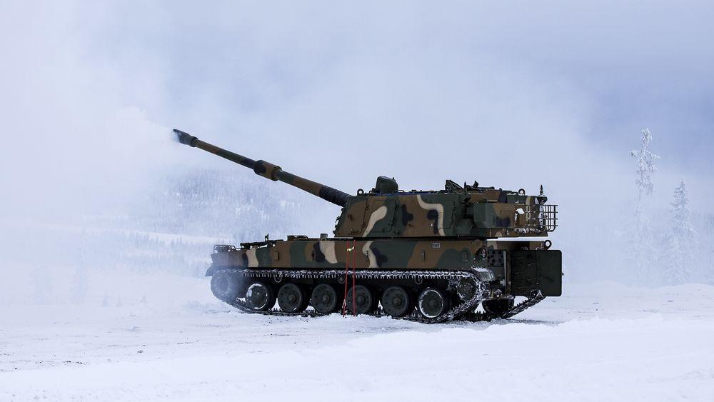K9 Thunder på besøk på Regionfelt Østlandet for snart to år siden