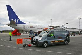 Veiskanneren kan brukes både på veier, jernbanestrekninger og flyplasser.