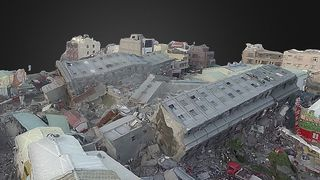 Lagde VR-modell av katastrofeområdet på kun 30 minutter