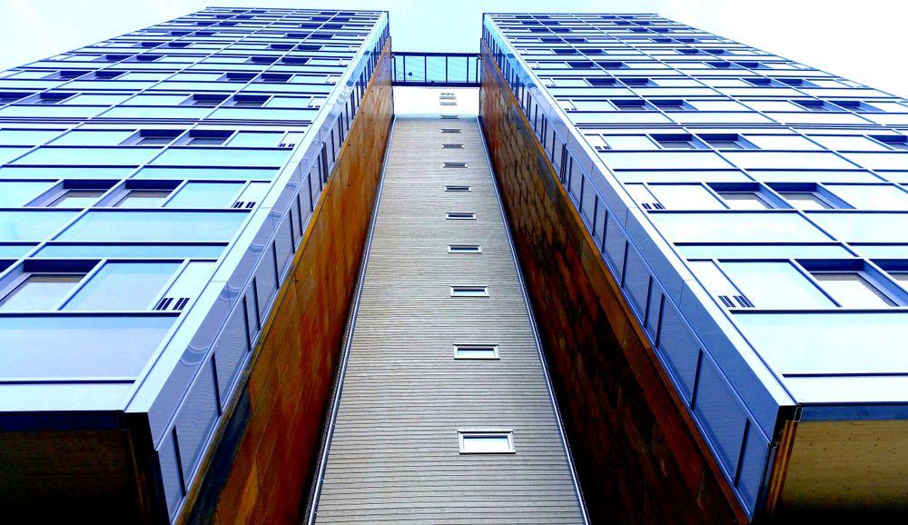 Verdens høyeste trehus er et modulbygg.