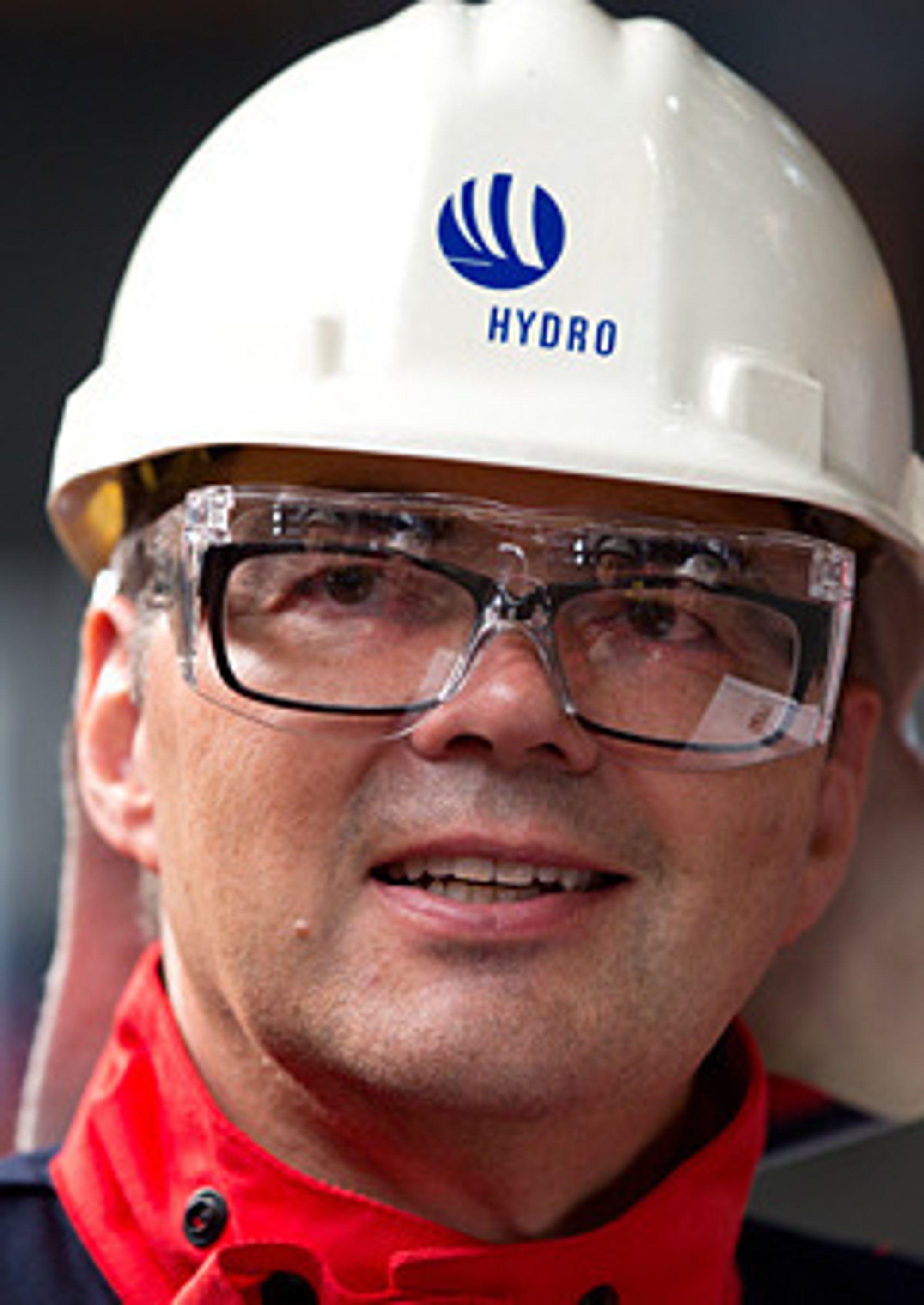 Hydros konsernsjef Svein Richard Brandtzæg har har doktorgrad i kjemi fra NTNU i Trondheim.