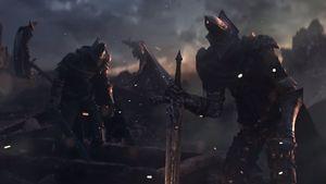 Se åpningssekvensen fra Dark Souls III