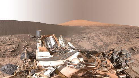 Se 360-video fra Mars