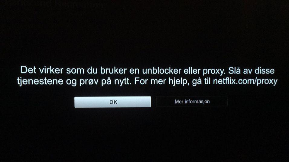Bruker du en proxy- eller VPN-tjeneste? Da ser du nok denne beskjeden snart.