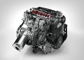 Mindre og mer effektive motorer bidrar til å redusere utslipp. Foto: Volvo