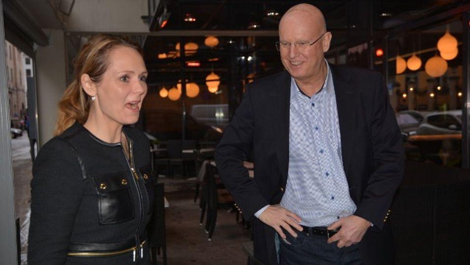 Kulturminister Linda Hofstad Helleland og direktør for Norsk filminstitutt Sindre Guldvog presenterte den nye satsingen mandag.