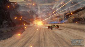 Per nå har spillet fire ulike våpen man kan plukke opp.