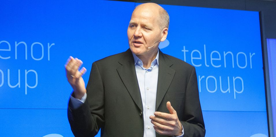Konsernsjef Sigve Brekke i Telenor ser utfordringer og økt konkurranse i viktige markeder som Thailand og Malaysia.