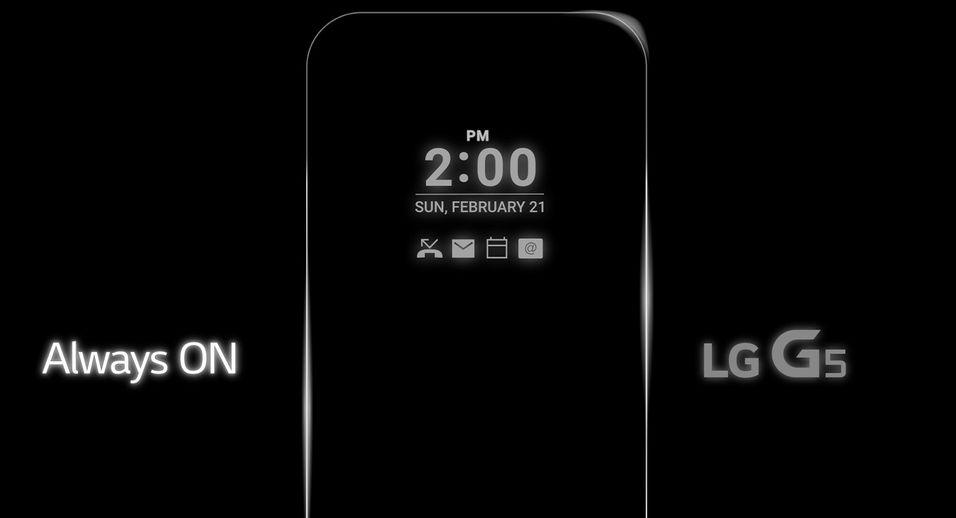 Et stillbilde fra den lille animasjonen LG har lagt ut. Løsningen kan bli nyttig, men hvor mye strøm vil dette bruke?