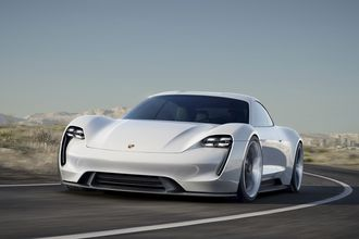 Porshce Mission E er Porsches kommende elbil.