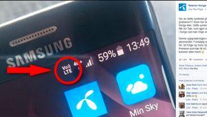 Har det dukket opp et nytt symbol på mobilen din?