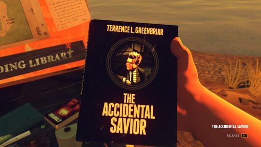 Gone Home-pappaens håpløse krimbøker tyder på at Firewatch foregår i samme univers.