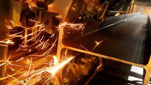 Selger stål til Thailand