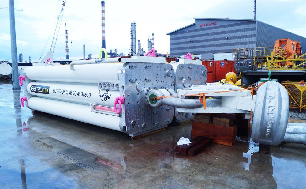 Den passive hivkompensatoren fra Safelink Group skal kunne øke værvinduet på løfteoperasjoner offshore.