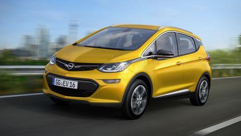 Opel Ampera-e får en rekkevidde på godt over 300 kilometer
